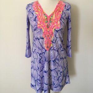 Lilly Pulitzer purple dress